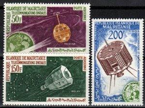 Mauritania #C23-5  MNH CV $7.25  (X2683)