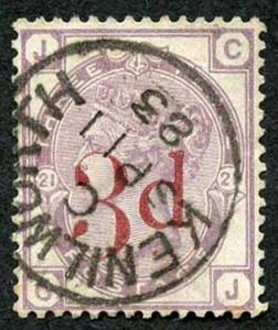 SG159 3d on 3d Lilac SUPERB Kenilworth CDS