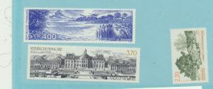 France Scott #2155 To 2157, Tourist Issue From 1989, Collectible Postage Stam...