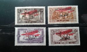 Alaouites C9-12 mint hinged