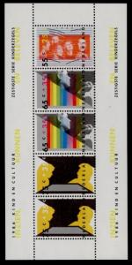 Netherlands B625a MNH Youth & Culture, Music, Art, Theater