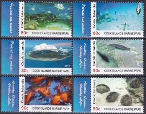 Cook Islands #1430-5  MNH  CV $8.70 (Z3863)