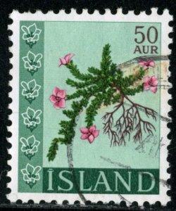 ICELAND #393, USED - 1968 - ICE398AFF6