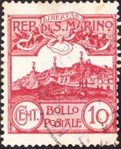San Marino  #45 Used