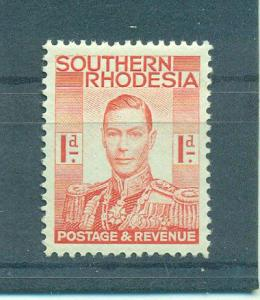 Southern Rhodesia sc# 43 mh cat value $.40