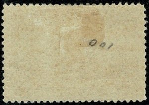 CANADA KE VII 1908 7c OLIVE-GREEN MINT UNUSED SG192 Wmk.none P.12 VGC
