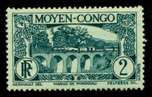 Middle Congo 1933 #66 MH SCV(2018)=$0.25
