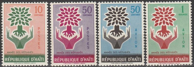 Haiti #452-3, C151-2  MNH