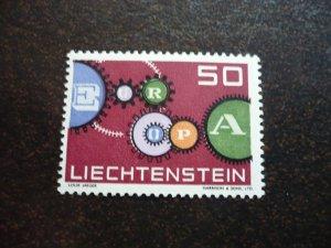 Europa 1961 - Liechtenstein- Single