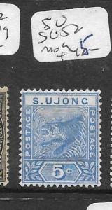 MALAYA SUNGEI UJONG  (P1301B) TIGER 5C SG 52  MOG