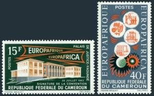 Cameroun 401-402,MNH.Michel 408-409. EUROAFRIQUE 1964.Science,Industry,Education