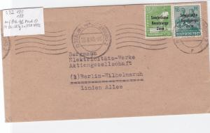 Germany Soviet Zone 1948 Berlin stamps cover  R20732
