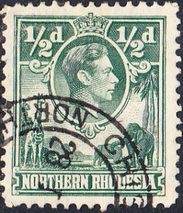 Northern Rhodesia #25   Used