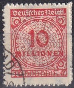 Germany #301  F-VF Used  CV $45.00  Z668