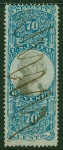 EDW1949SELL : USA Scott #R117 Very Fine, Used. Catalog $75.00.