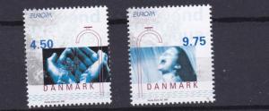 DENMARK   2001  EUROPA  SET  MNH