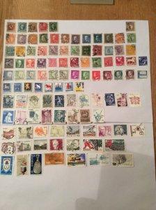 Sweden 100+ stamps - Lot D