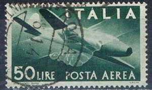 Italy C113 Used Plane clasped hands 1945 (I0832)