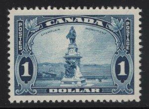Canada 1935 $1 Champlain Monument Sc# 227 NH