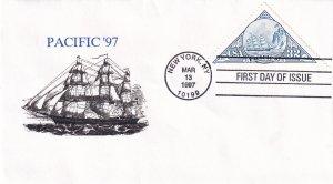 1997, Pacific '97, DGW, FDC (E12270)