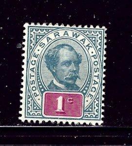 Sarawak 36 MH 1901 issue     #2