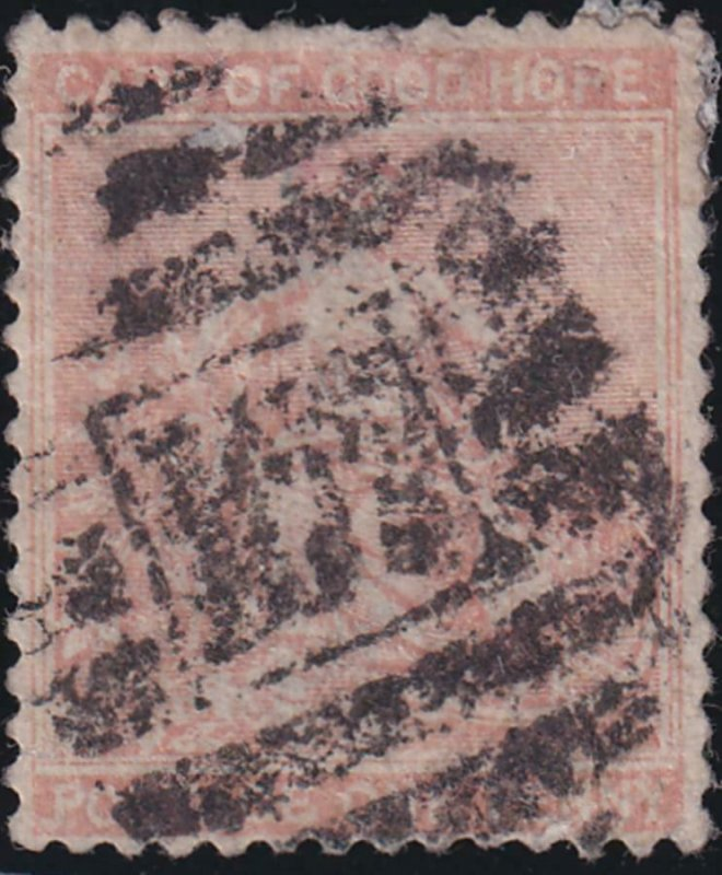 Malta 1865 SC 5 Used