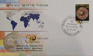 O) 2011 SRI LANKA, MOVEMENT OF NON-ALIGNED COUNTRIES IN THE COLD WAR, GEOPOLITI