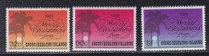 Cocos Islands # 200-202, Christmas, NH, 1/2 Cat.