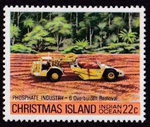 Christmas Island #100 Mint