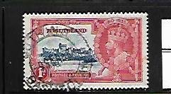 BASUTOLAND,11,USED, SILVER JUBILEE ISSUE
