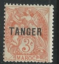 French Morocco  Scott # 74 -MH        ©