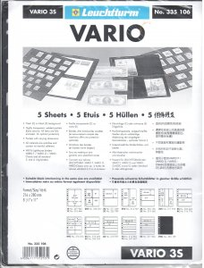 Lighthouse Vario 3S Stock Pages #335106 Ret $5.85