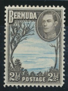 Bermuda  SG 113ab perf 11.9   SC# 120A MLH  Grape Bay  see details and scans