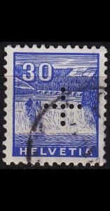 SCHWEIZ SWITZERLAND [DienstBund] MiNr 0007 ( O/used )