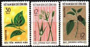 Vietnam. 1974. 771-73. Flora. USED.