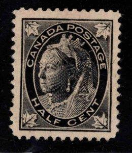 CANADA Scott 66 MH* 1897 1/2c Victoria CV$15