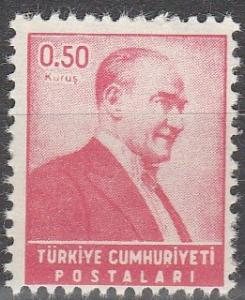 Turkey #1192 MNH  (S6090)