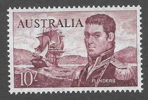 Doyle's_Stamps: MNH Australian Scott #377** 1964 10 Shilling Issue