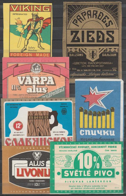 Foreign Poster Stamps (A3322)
