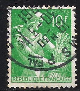 France 1959 Scott# 833A Used