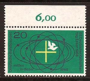 Germany  #  989  Mint  N H  Numeral  Single