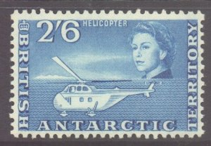 British Antarctic Territory BAT Scott 12 - SG12, 1963 Elizabeth II 2/6d MNH**