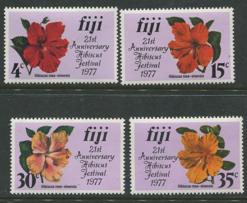 Fiji - Scott 376-379  - General Issue 1977- MNH - Set of 4 Stamps