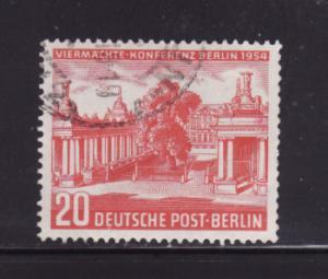 Germany Berlin 9N103 Set U Allied Council Building