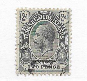 Turks & Caicos #27 Used CAT VALUE $4.00