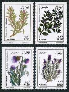 Algeria 961-964,MNH.Michel 1067-1070. Medicinal plants,1992.