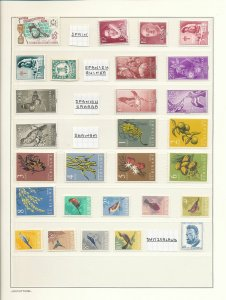 HUNGARY Vatican Swiss Ukraine Suriname Wildlife MNH (Appx 130+Stamps)(W980