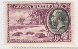 British Colony Cayman Islands 1935 6d MH* Stamp A22P19F8951
