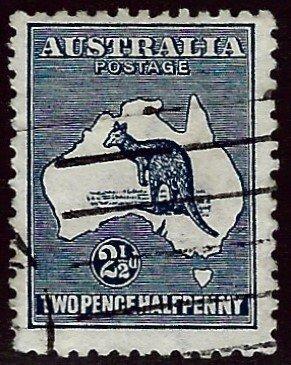 Australia SC#4 Perf 12 wmk 8 Used F-VF $23.00...Worth a close look!!