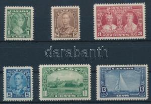 Canada stamp Definitive set 1935 MNH Mi 178-183 WS221086